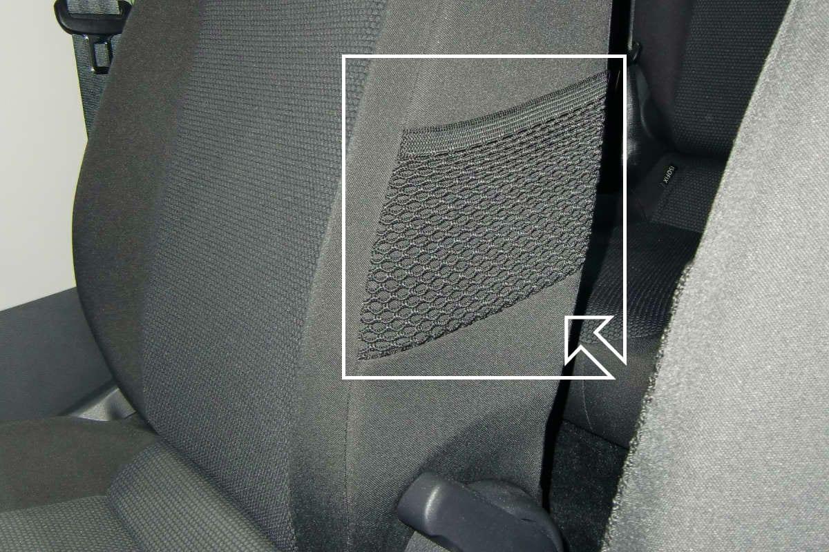Sítě pro potah sedačky