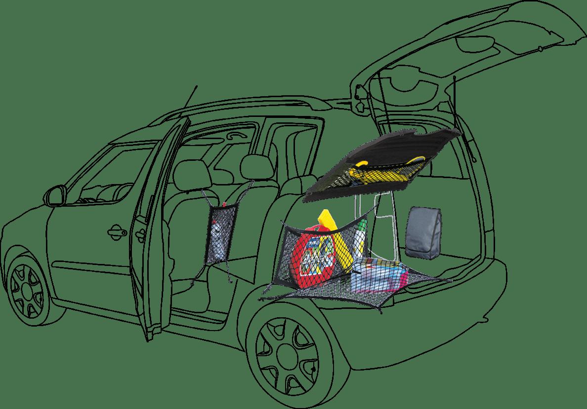 Náčrt auta